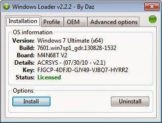 Activateur Windows loader