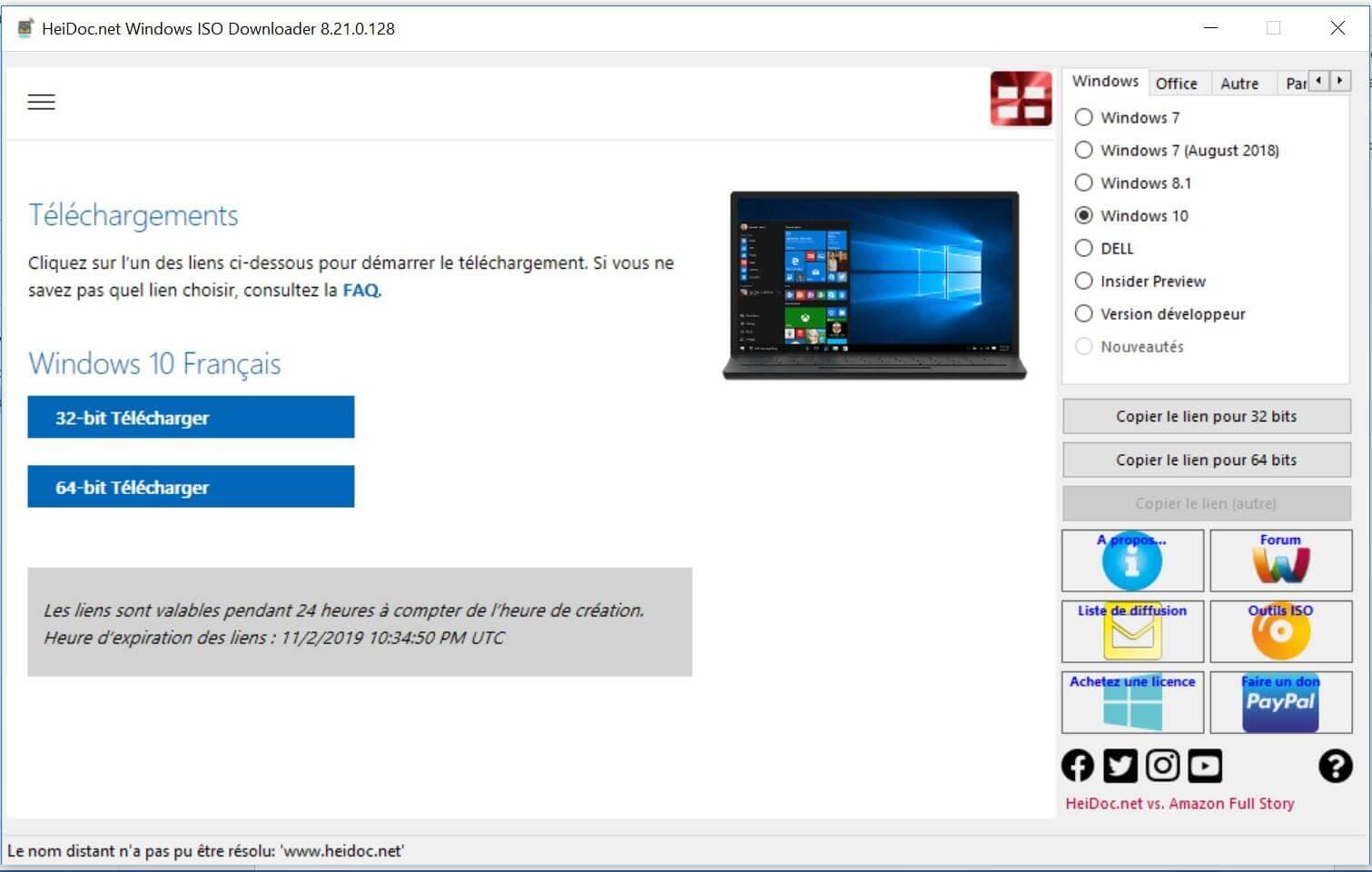 Choisir Architecture Pc Windows